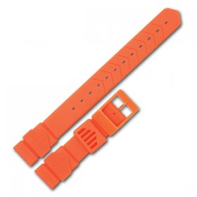 Tag Heuer F1 strap , Orange , mens or mid size