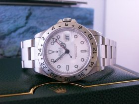Rolex Explorer 2 , white 16570** NOW SOLD**
