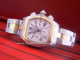 Cartier Roadster Chronograph 18k/SS **SOLD**