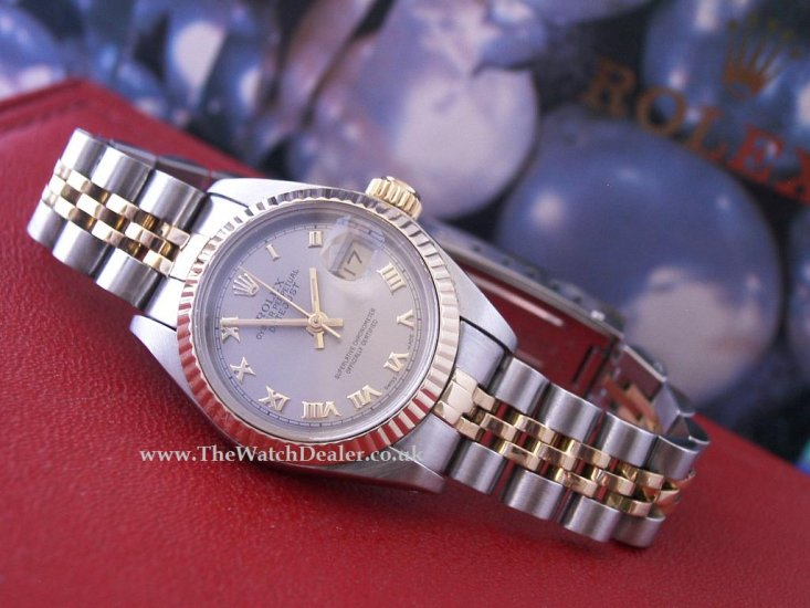 Rolex Ladies Datejust 18k/SS 79173