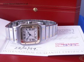 Cartier Santos 18k/SS **NOW SOLD**
