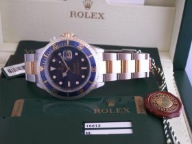 Rolex Blue SS/18k Submariner**SOLD**