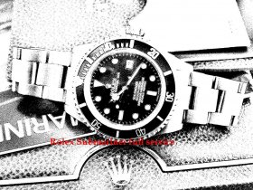 Rolex Submariner 16610 full Service