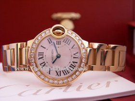 Ballon-Bleu 18k yellow gold for the ladies **SOLD**
