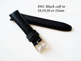 IWC Vintage Calf in black
