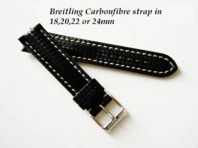 Breitling Carbonfibre strap for Buckle