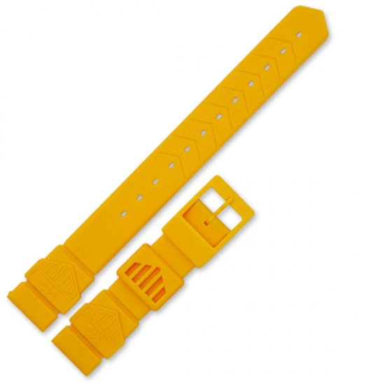 Tag Heuer F1 strap for ladies watch , Yellow