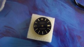 Rolex ladies Daytejust dial black