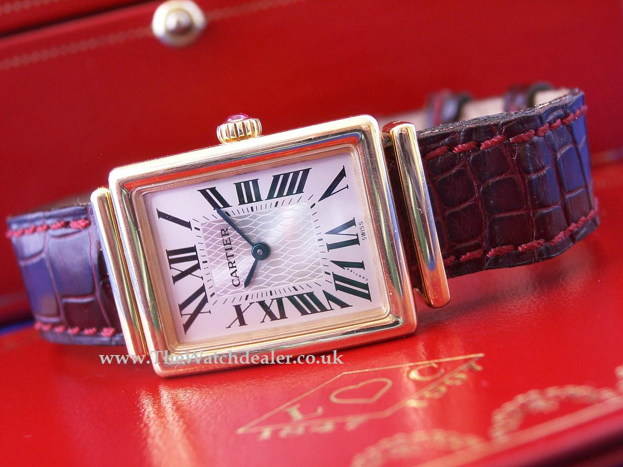 Cartier 150th anniversary Tank Bi-Plan Ltd edition