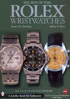 Rolex wristwatches An Unauthorized History Revised & Expanded 3r